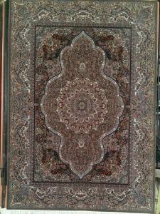 فرش ماشینی ٥٠٠ شانه طرح ٧٠٠ ٤*٣ النا آبی فخر پایتخت درجه ١