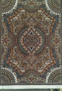 فرش ماشینی ٥٠٠ شانه طرح ٧٠٠ ٤*٣ طرح آیلار روناسی فخر پایتخت
