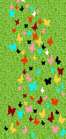 فرش اتاق کودک ٢.٢٥*١.٥ کد ٥٤٧ سبز تراکم ٩٦٠