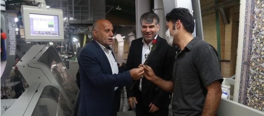 آران و بیدگل دومین قطب تولید فرش ماشینی در دنیا